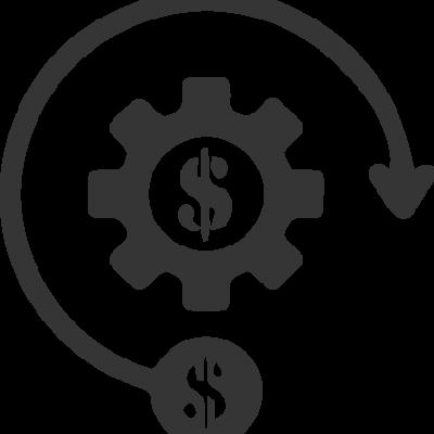 ícone de eficiência