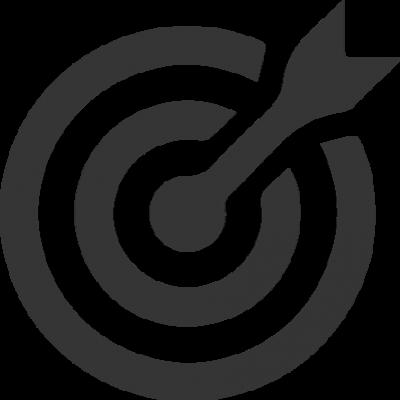 ícone de precisão