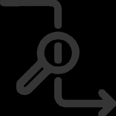Ícone de rastreabilidade